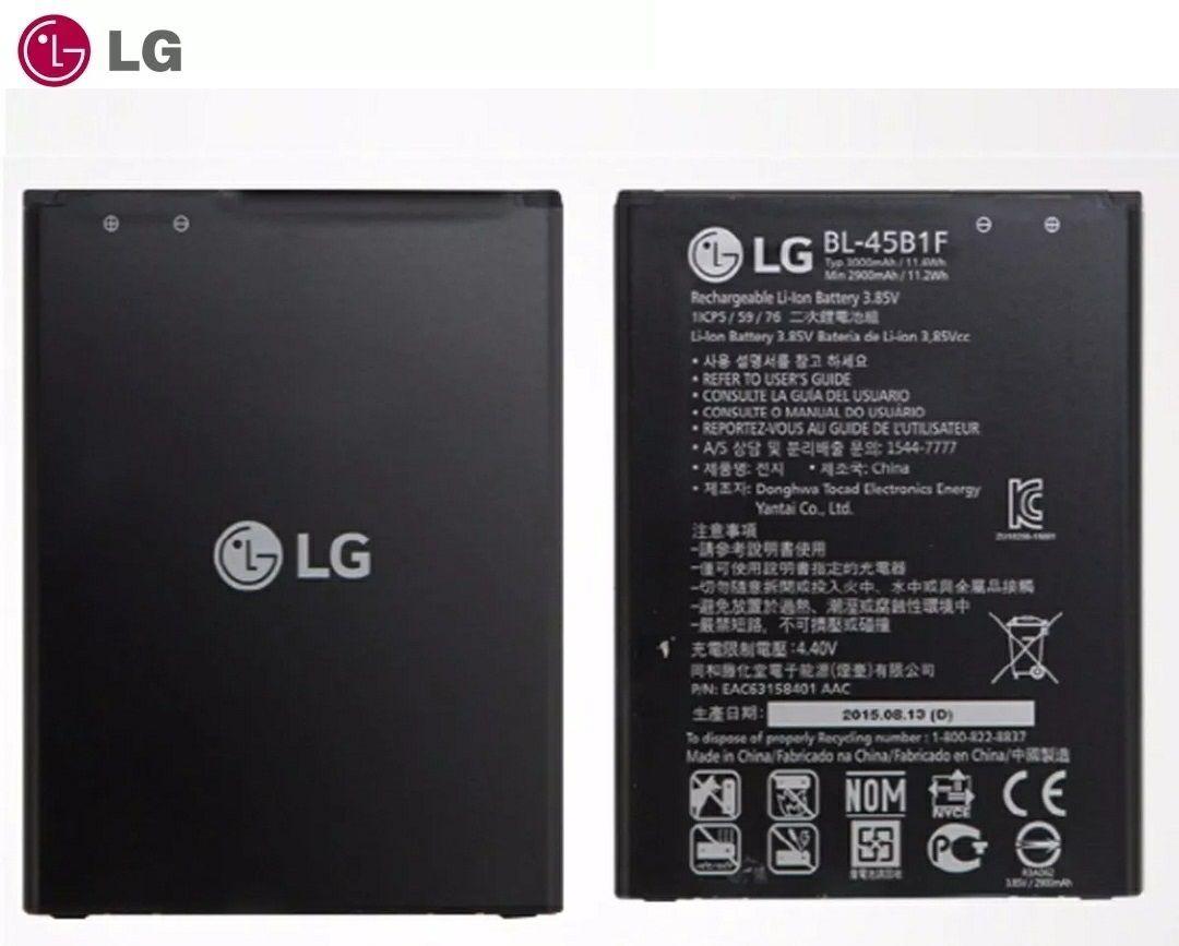Bateria Lg Bl-45b1f 3.85v 2900mah Lg V10 Stylo 2 H900 H901 Vs990 Original