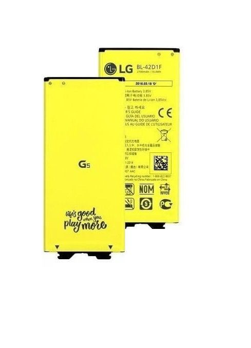 Bateria LG G5 H840 H830 Original + Cápsula Conector de Carga Buzzer Antena original