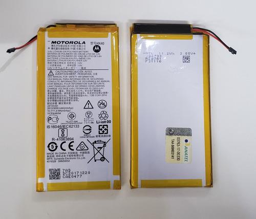 Bateria Moto X4 Hx40  Xt1900 Motorola 3000mah Original