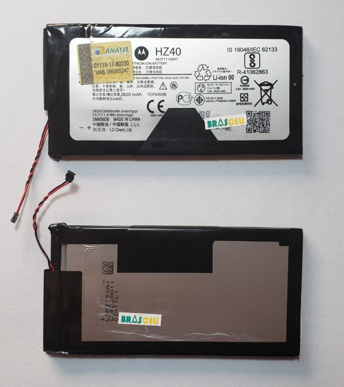 Bateria Motorola Hz40 Moto Z2 Play Xt1710  2820 Mah Original