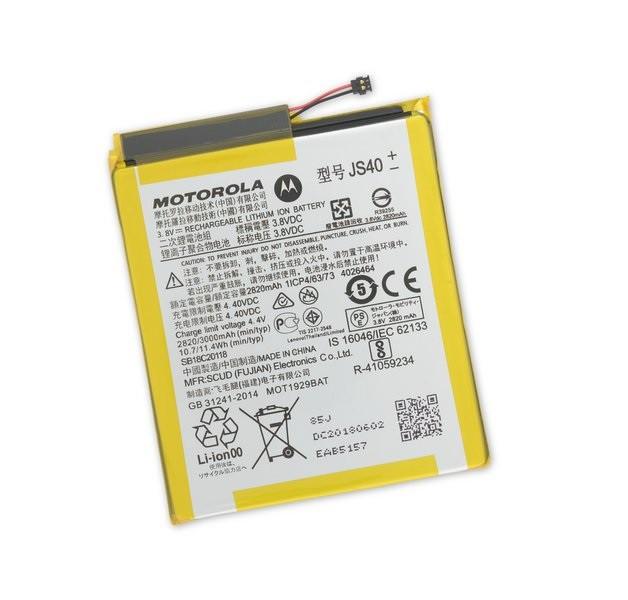 Bateria Motorola JS40 Moto Z3 Play Xt1929 Original 3000mah