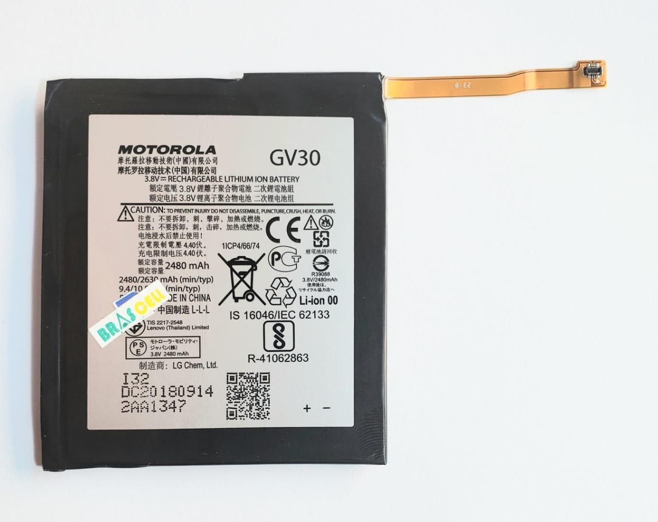 Bateria Motorola GV30 Moto Z Xt1650  2480mah Original