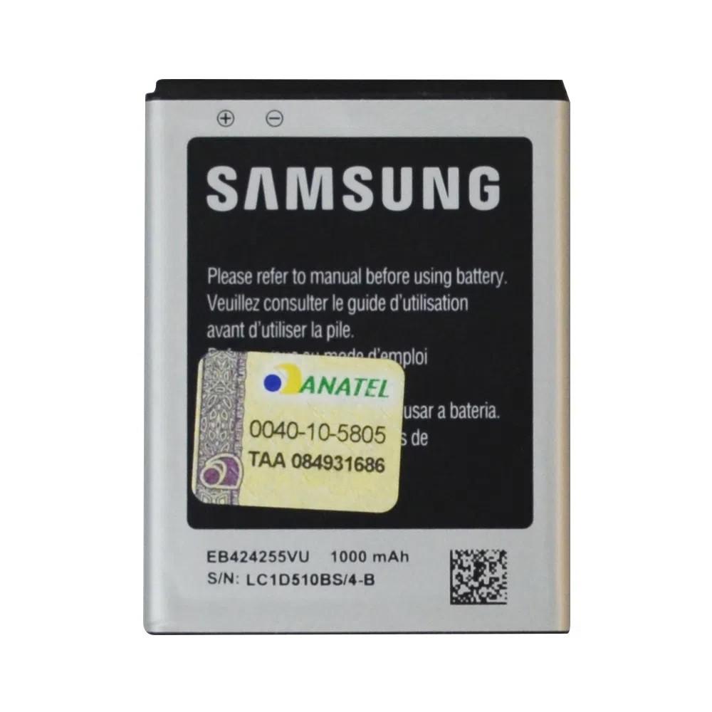 Bateria Samsung EB424255VU Gt S3350 S3850 Corby 2 S3572 I6230 1000Mah Original