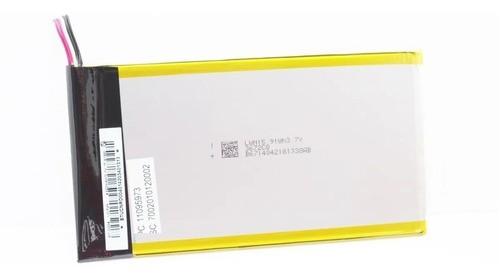 """Bateria Tablet 4300Mah Original Positivo Universal para tablets 9 e 10 """"  Multilaser Dl 7.2 X 13.4cm 3.7v"""