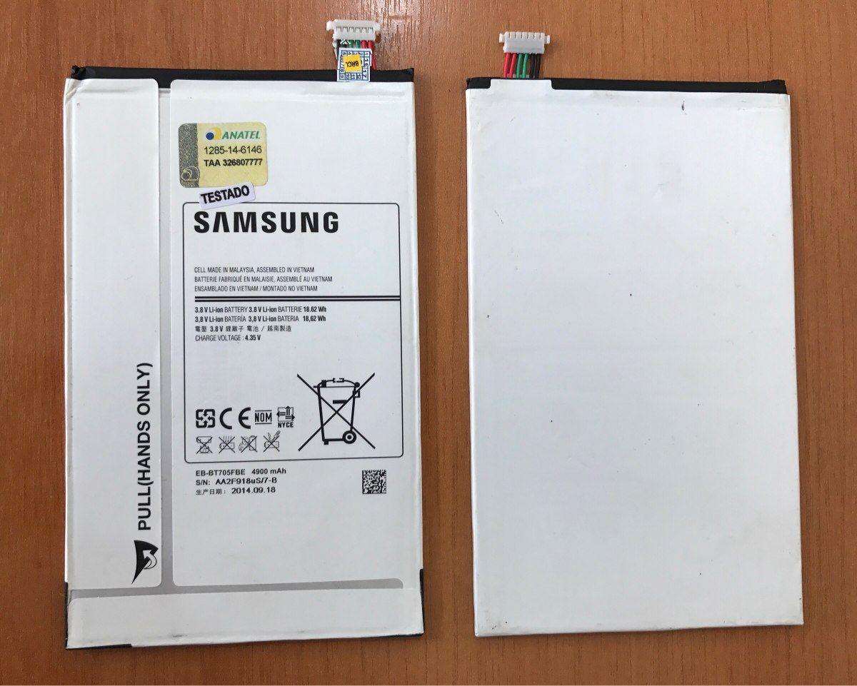 "Bateria Tablet Samsung Tab S  8.4"" Sm T700 / T705 Eb-bt705fbe Original"