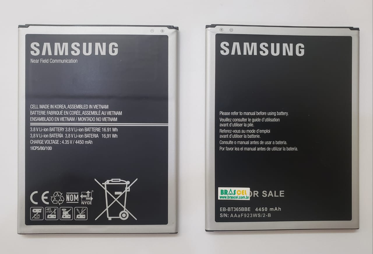 Bateria Tablet Sansung Tab Active Eb Bt365bbe Sm T365m Original 4450MAH
