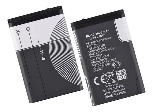 Baterial BL-5c Celulares Caixinhas De Som Vários 3,7V 1020MAH