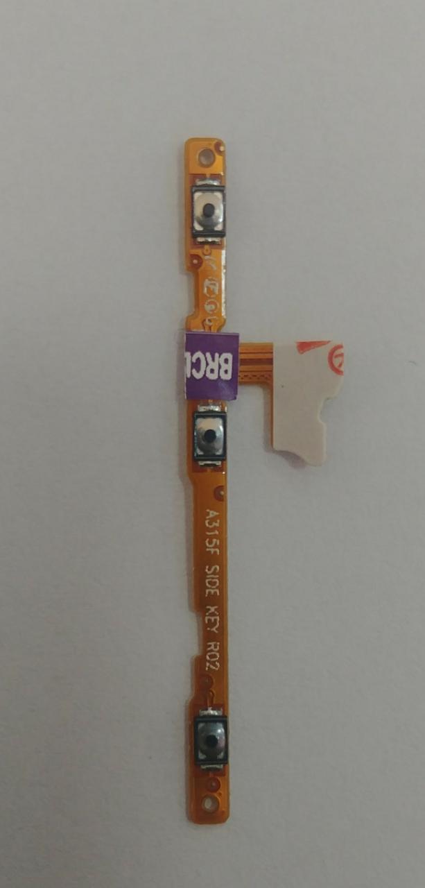 Cabo Botão Flex Power Volume Celular A31 Sm-a315f