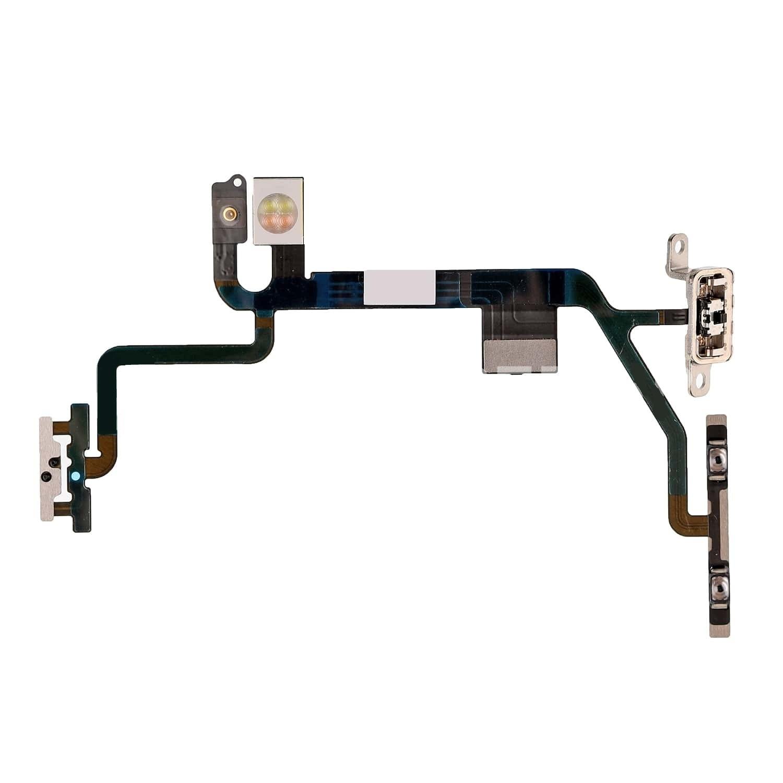 Cabo Flex Botão Power Volume Trava Vibracall Apple iPhone 8 Original Compativel A1863 A1905 A1906