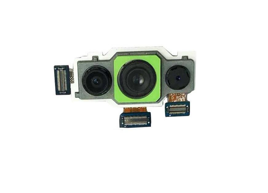 Câmera Traseira Celular Samsung A71 Sm a715 a715F / TRIPLA 64Mpx/ 12Mpx / 5Mpx