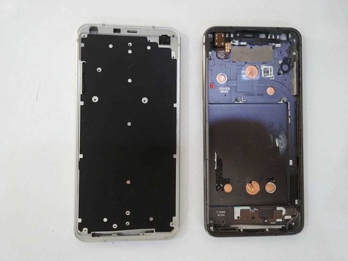 Carcaça Aro Chassi Celular LG G6 H870 H871 Original De Metal