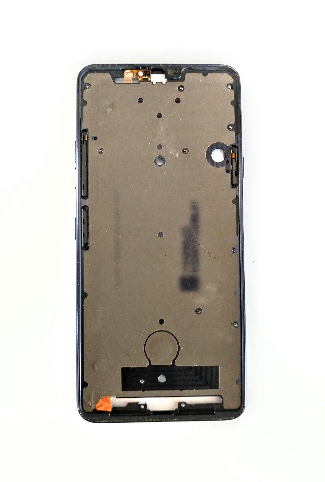 Carcaça Aro Chassi Com Botoes Celular G7 G710 Thing Original De Metal Retirado