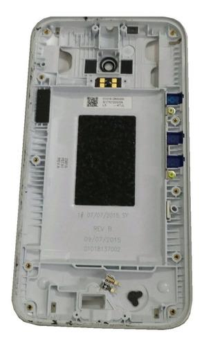 Carcaça Gabinete Lente Câmera Moto G3 Xt1543 Xt1544 Bco Orig