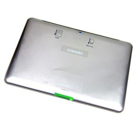 Carcaça Tampa Traseira Aro Tablet Gt-p5100 Entrada Chip 3g 10.1 Original