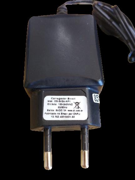 Carregador Pino Fino Para Tablet Dl Modelo Cg-5v2a-np1