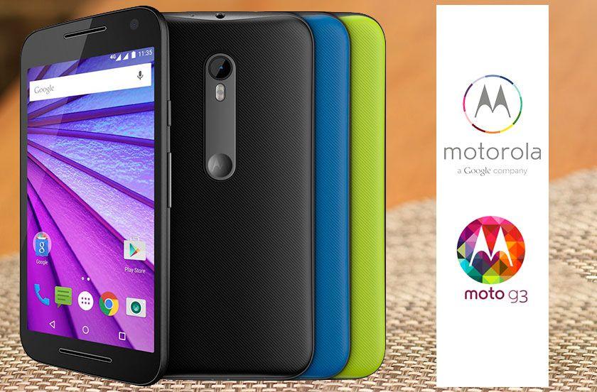 Celular Motorola Moto G3 3ª Geração Xt1543 16gb 4g Nacional , Colors  3 Tampas , Android , Dual Chip Original