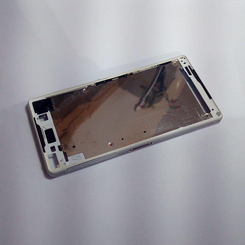 Chassi Aro Lateral Celular Sony Xperia Z2 Teclas e Tampa Lateral USB