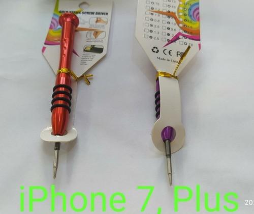 Chave Multiuso Profissional para Abrir iPhones 7, 7 Plus, 8, 8plus