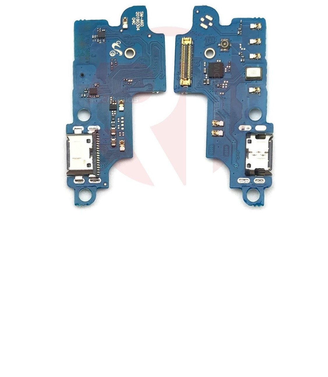 Conector Carga Placa Usb C Microfone Samsung A60 A605f