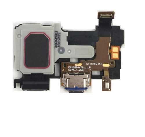Conector De Carga Campainha Microfone LG Q Note Plus Q710 Orig