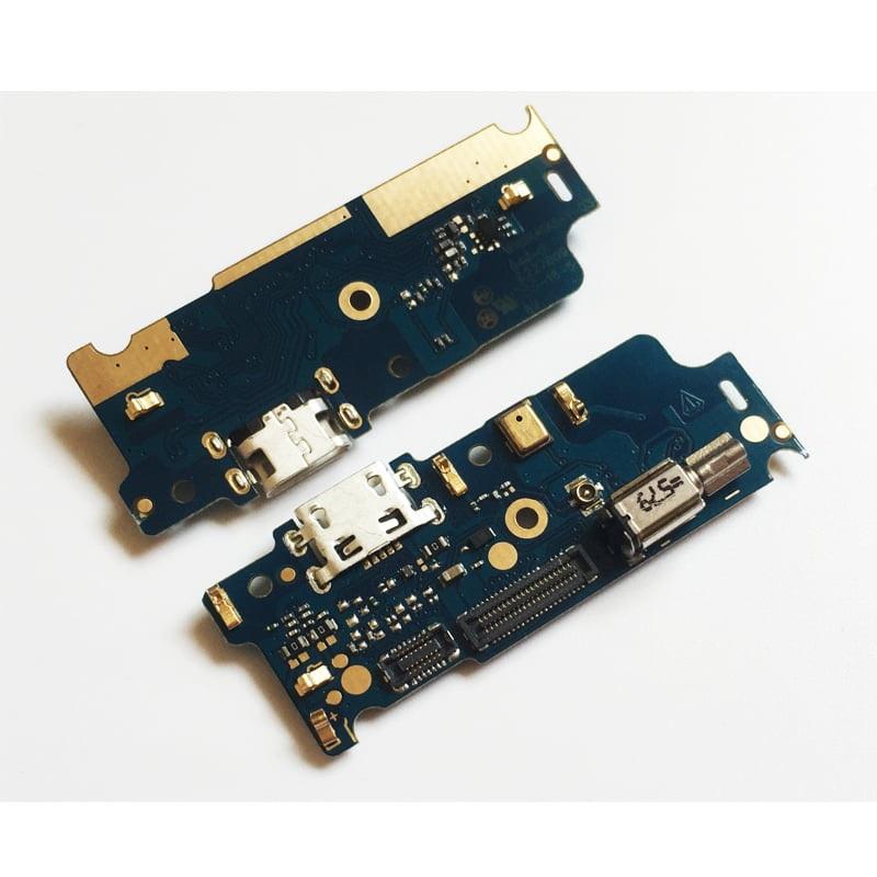 Conector De Carga Moto E4 Xt1763 Placa C/ Microfone