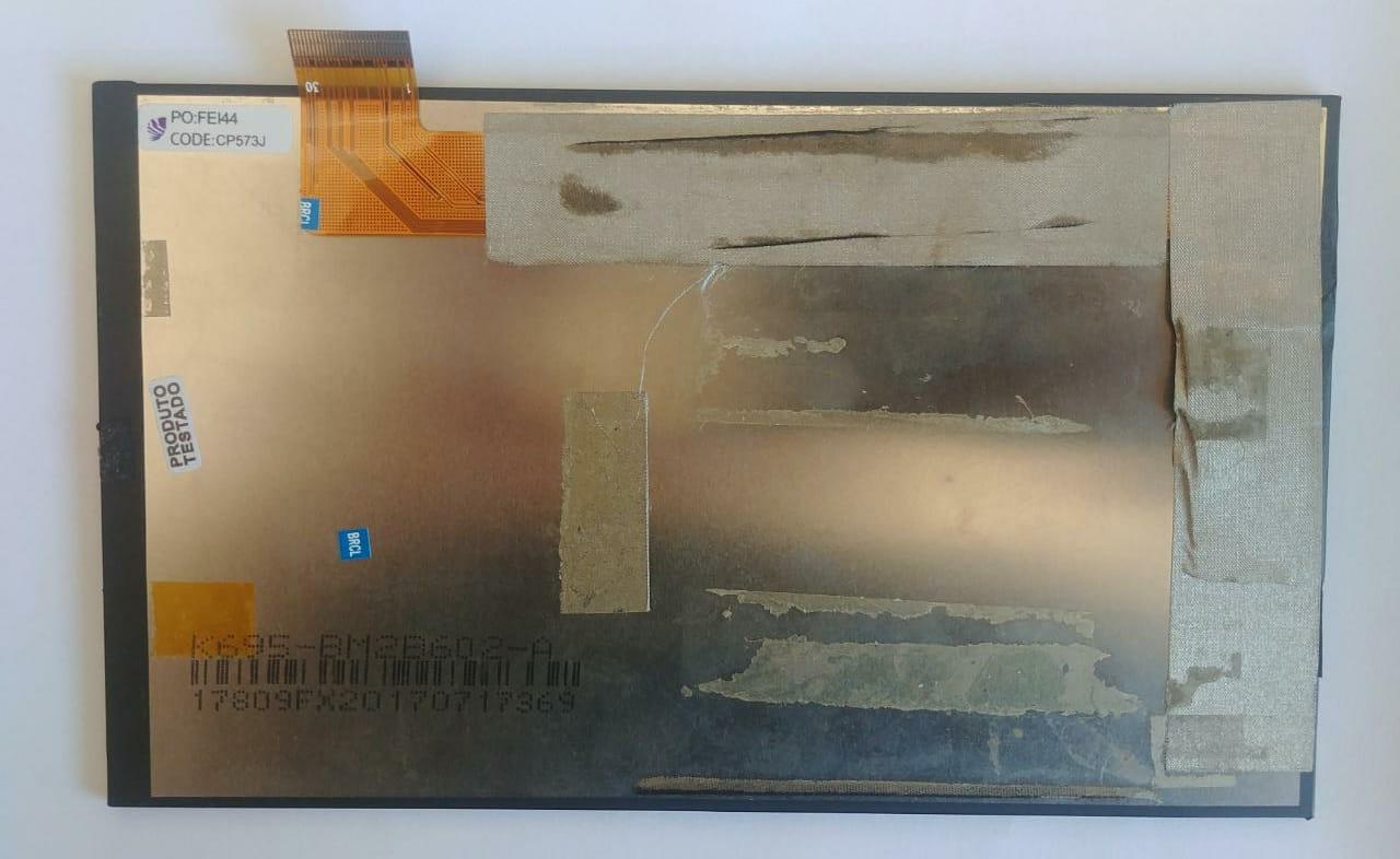 Display Lcd Tablet Multilaser M7 3G So01 Original Retirado