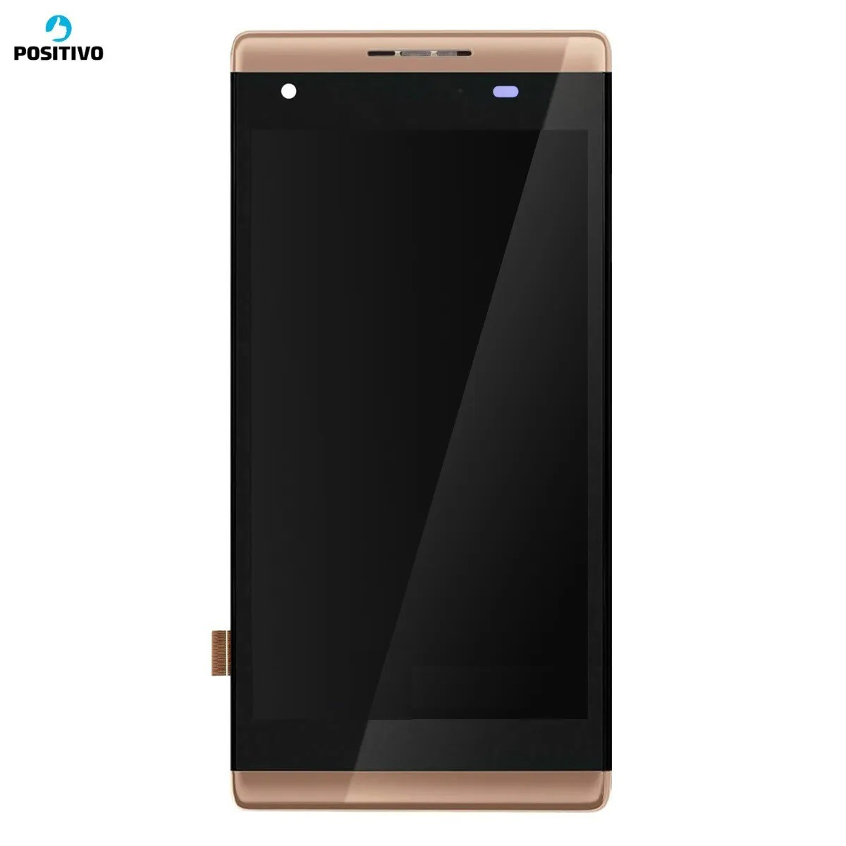 Display Lcd Touch Celular Positivo Selfie S455 Frontal com aro Chassi 4.5 Pol.