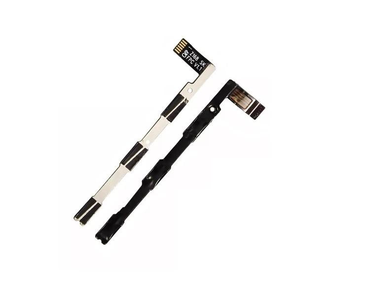 Flex Botão Power E Volume Moto E4 / Xt1762 Xt1763