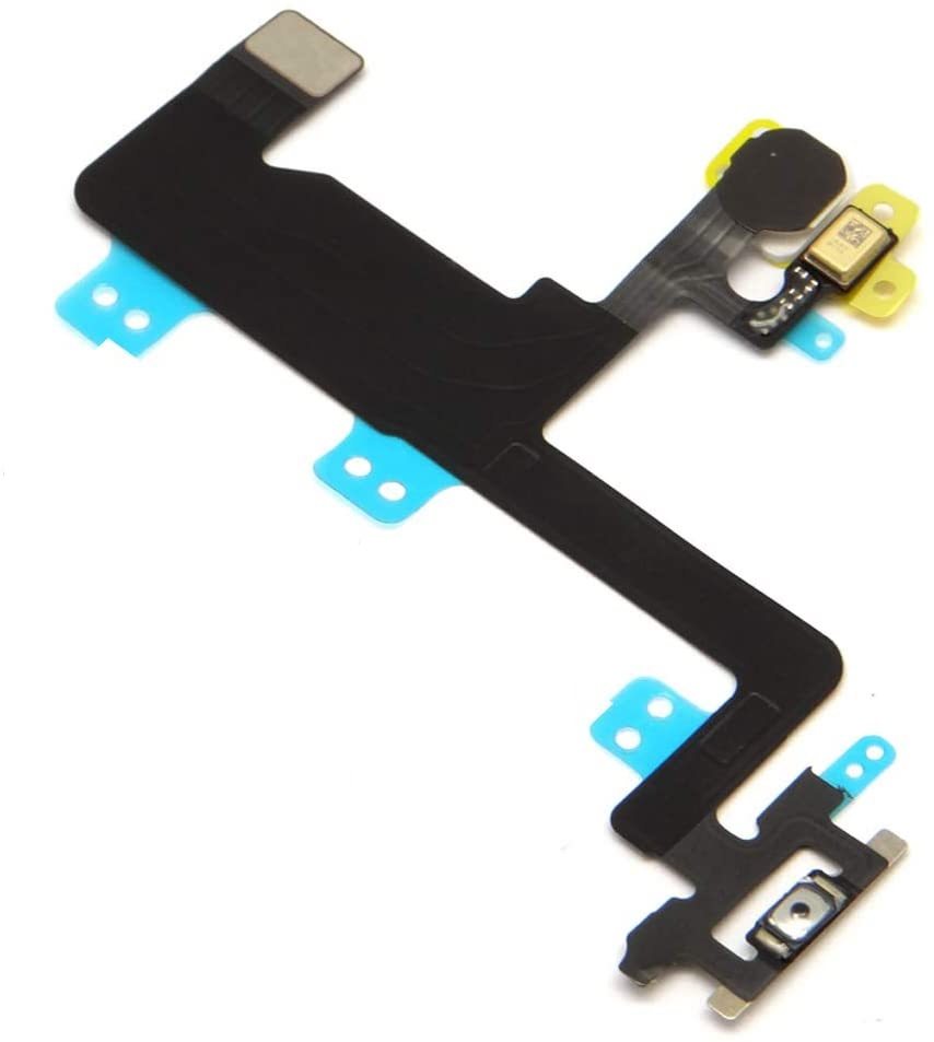 Flex Botao Power On Off Microfone e Flash Apple Iphone 6 6g