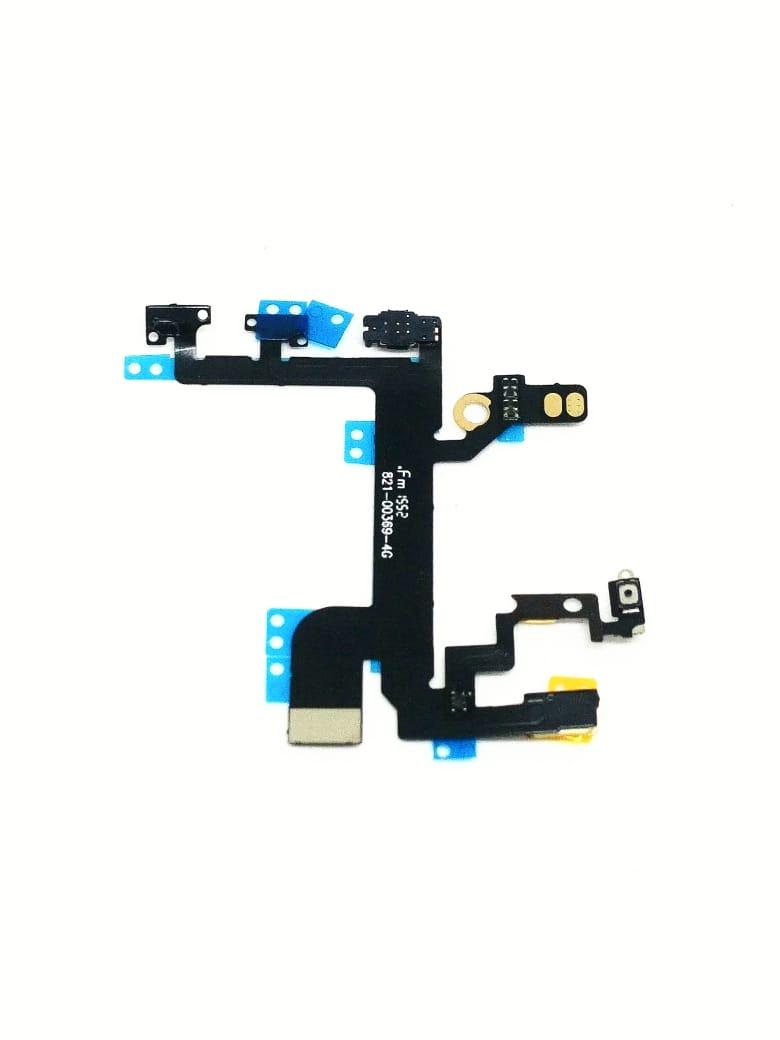 Flex Botão Power Volume Com Microfone iPhone 5s  A1453