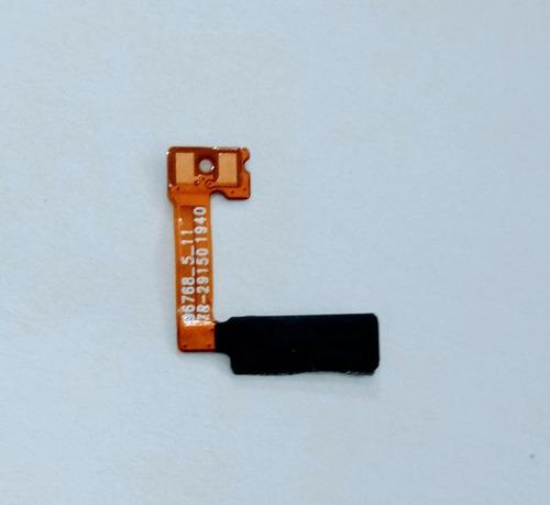 Flex Do Botão Tecla Power Celular LG K50s Lm X540 Original