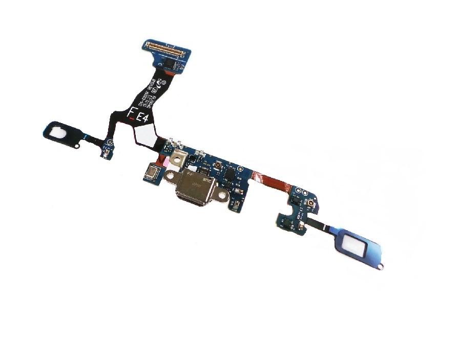 Flex Dock Usb de Carga Microfone Samsung S7 Edge Sm G935 G935F