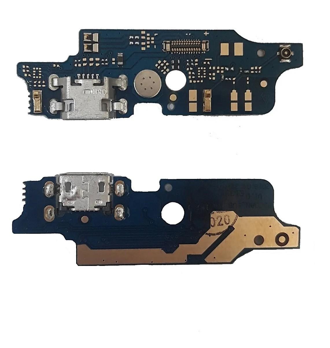 Flex Dock Usb Motorola Moto E6 Plus Xt2025 com microfone