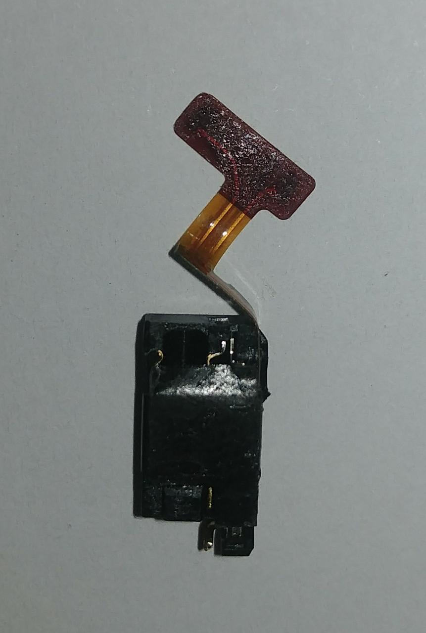 Flex p2 do Fone Ouvido Lg M400 K10 Pro Original