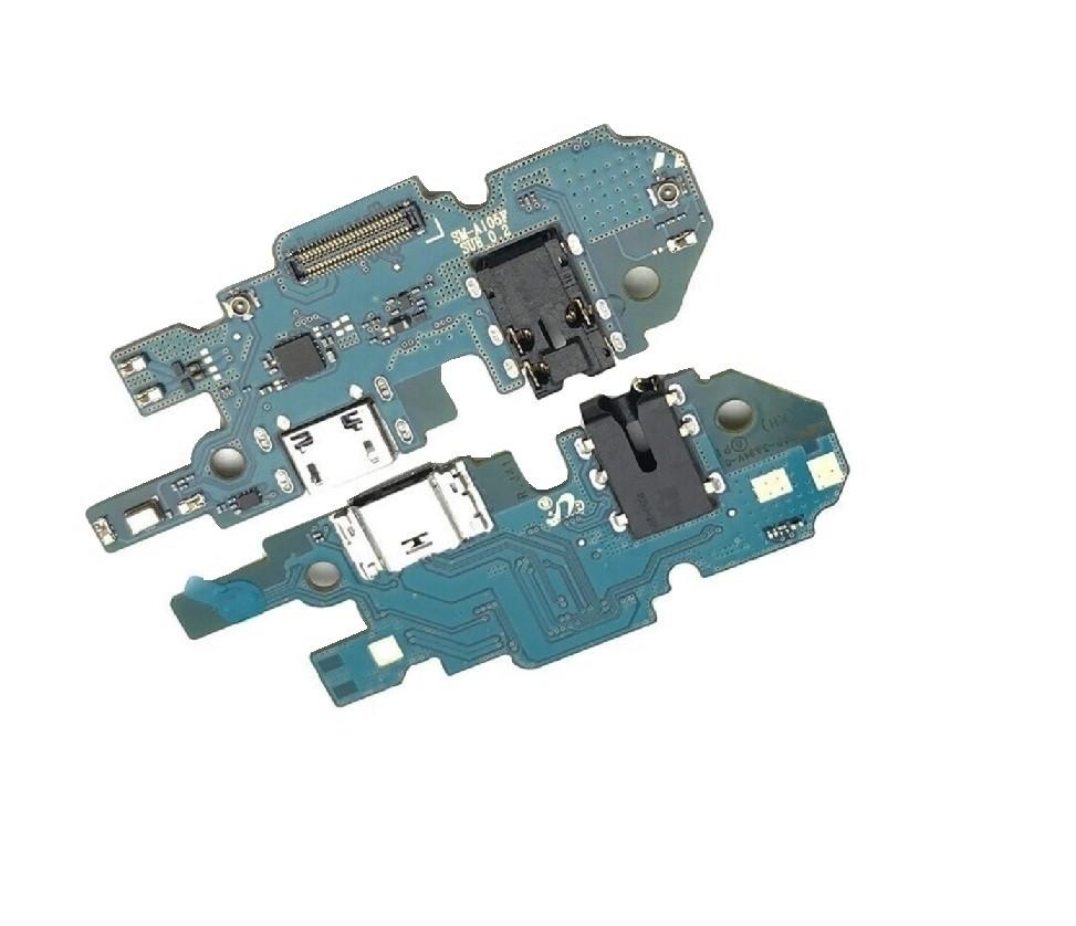Flex Placa Conector de Carga Áudio Jack do Fone Samsung A10 Sm-A105 com microfone