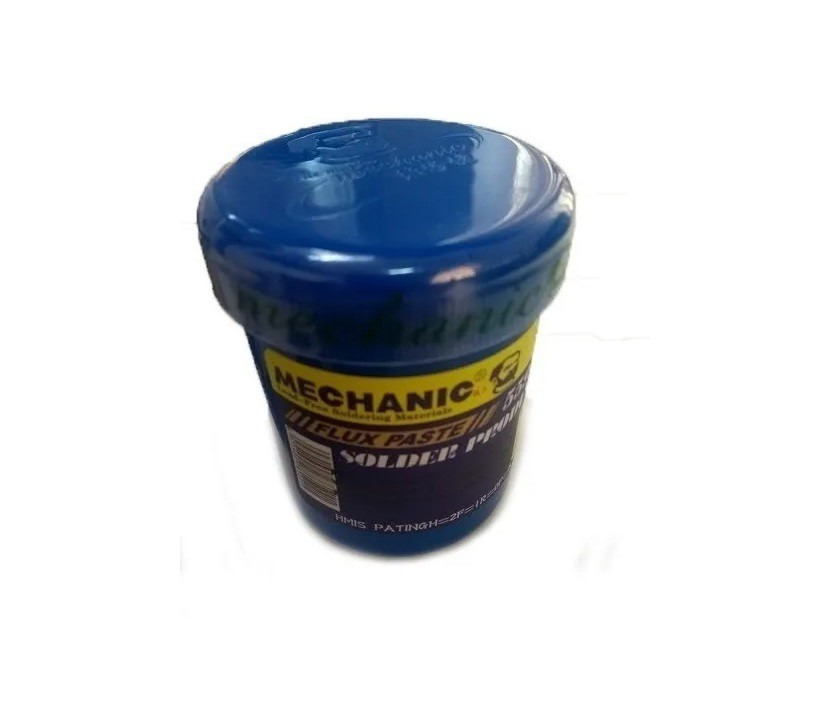 Fluxo de Solda em pasta Mechanic 559 Profissional Pote 100 Gr