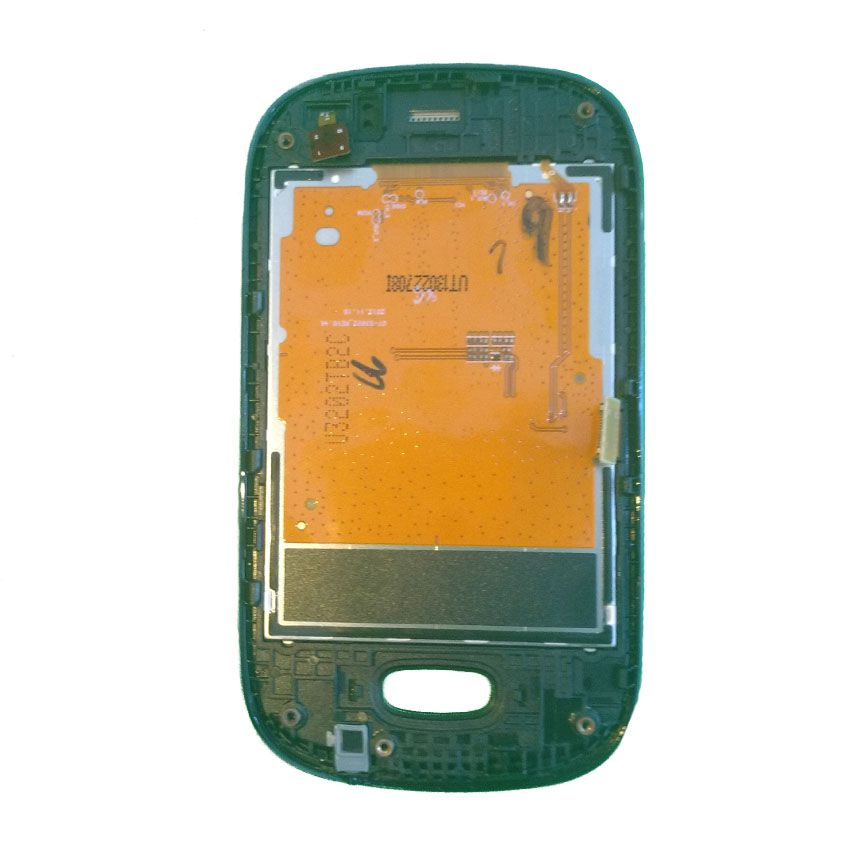 Frontal LCD Display Touch e Aro Samsung Rex S3802 Duos Original