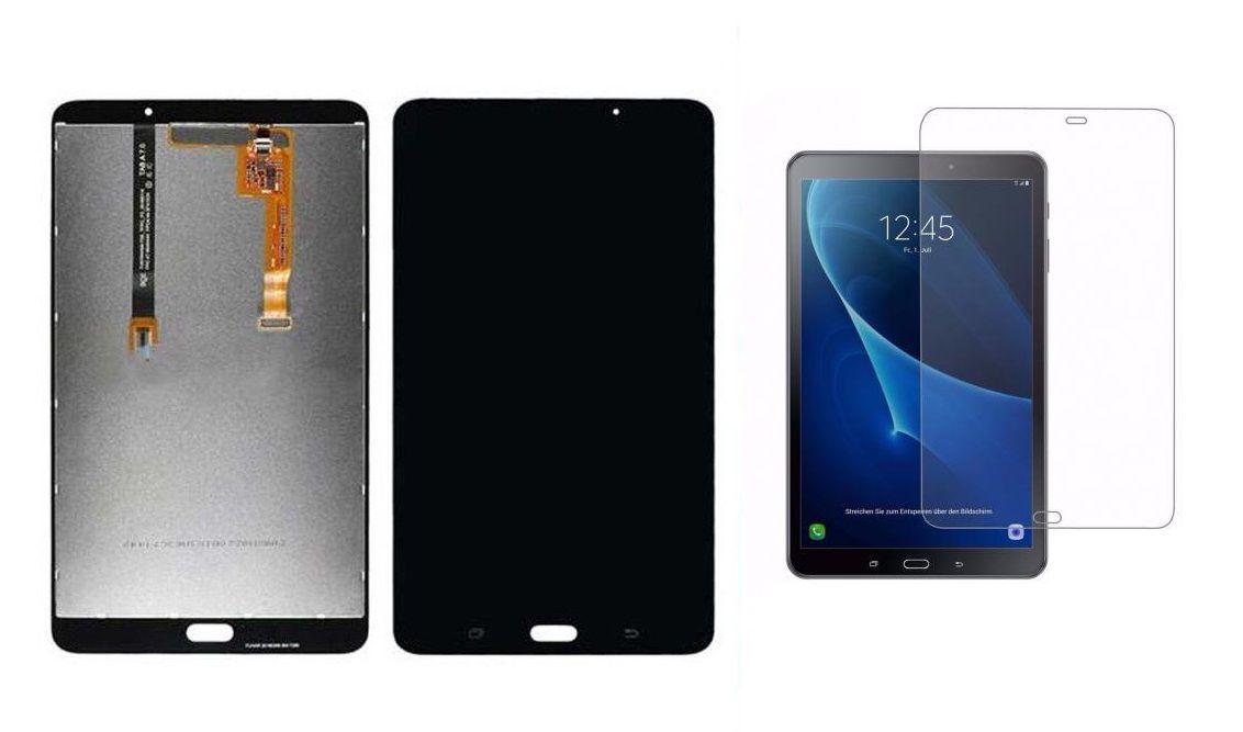 Frontal Lcd  Display Touch Samsung Tab Sm T280 Tela 7 Polegadas + Película de vidro aplicada