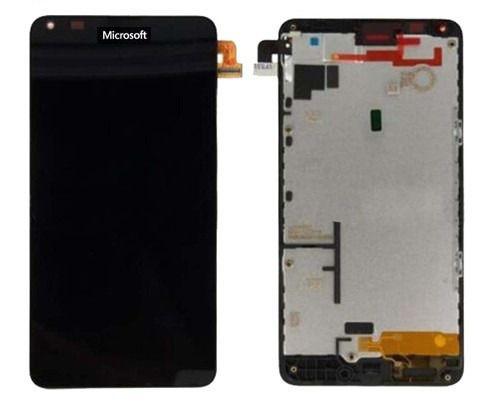 Frontal Lcd Display Touch Screen Nokia Lumia 640 /  RM 1109 Original Preto