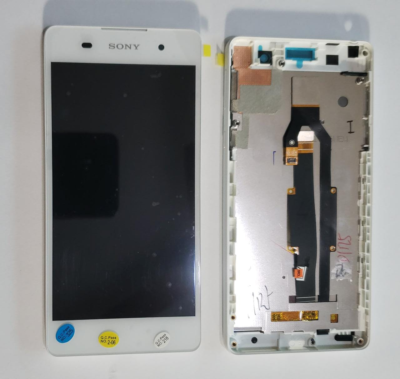 Frontal Lcd  Display Touch Screen Sony  Xperia E5 F3311 F3313 Com Aro