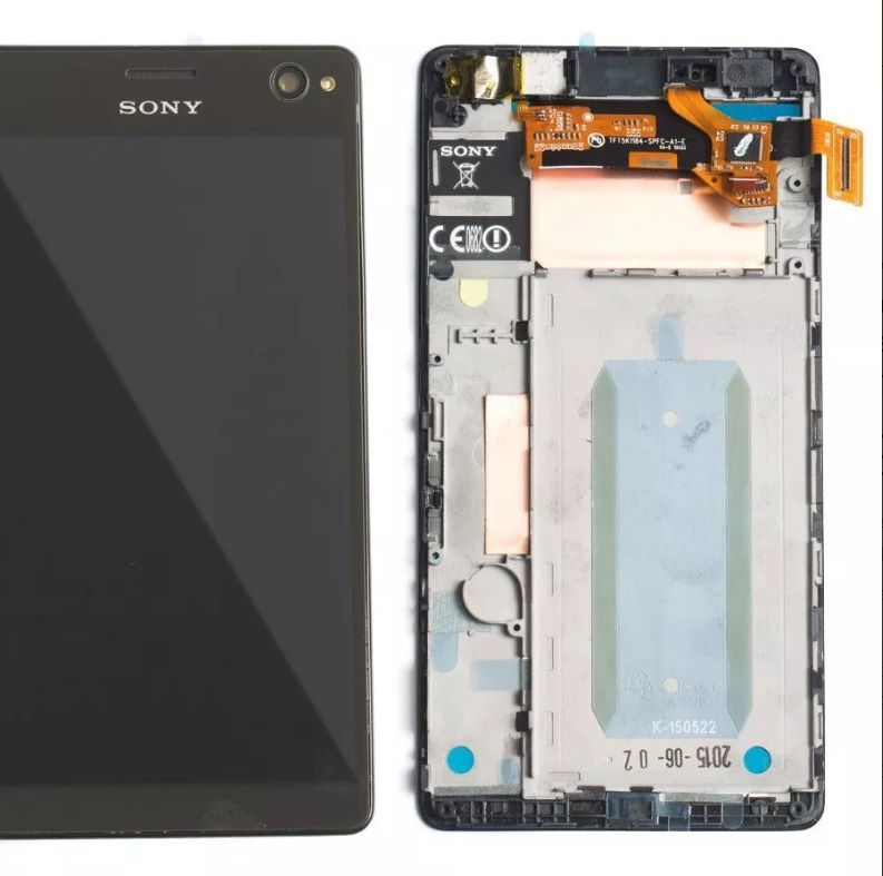 Frontal Lcd Display Touch Screen Xperia C4 Selfie E5343 Original