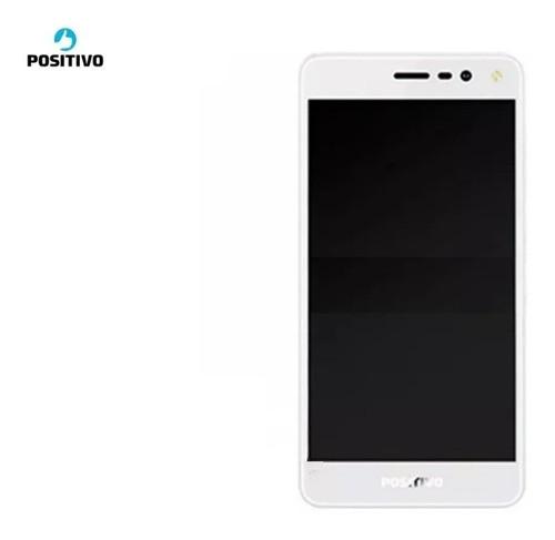 Frontal Lcd Touch C. Aro Positivo S511 Twist Branco Original