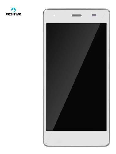 Frontal Lcd Touch E Aro Positivo Quantum Go X900