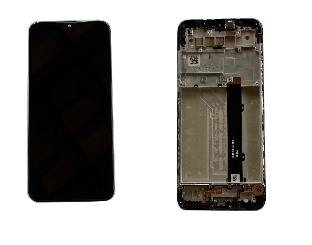 """Display Lcd Touch LG K41s Lm K410 bmw  tela 6.5"""" Com Aro Chassi"""