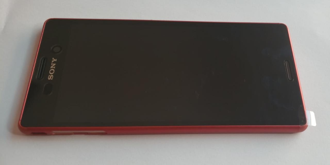Frontal LCD Touch Screen Xperia M4 Aqua  1 Chip E2303 E2353 Com aro Original