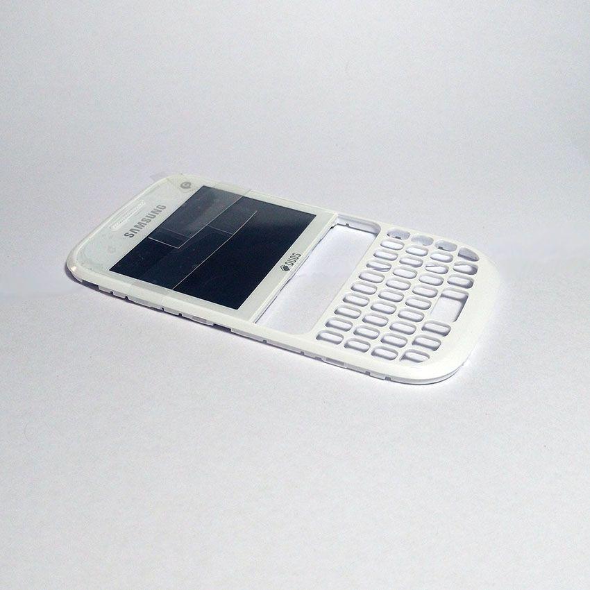 Gabinete Carcaça Frontal com Display Visor Samsung Chat 333  Gt S3332 S3333  Original