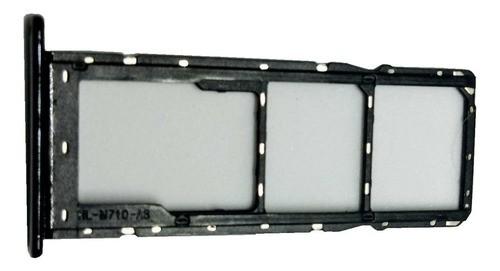 Gaveta Bandeja Chip 1 + Chip 2 Celular LG K41s Lm K410 Bmw