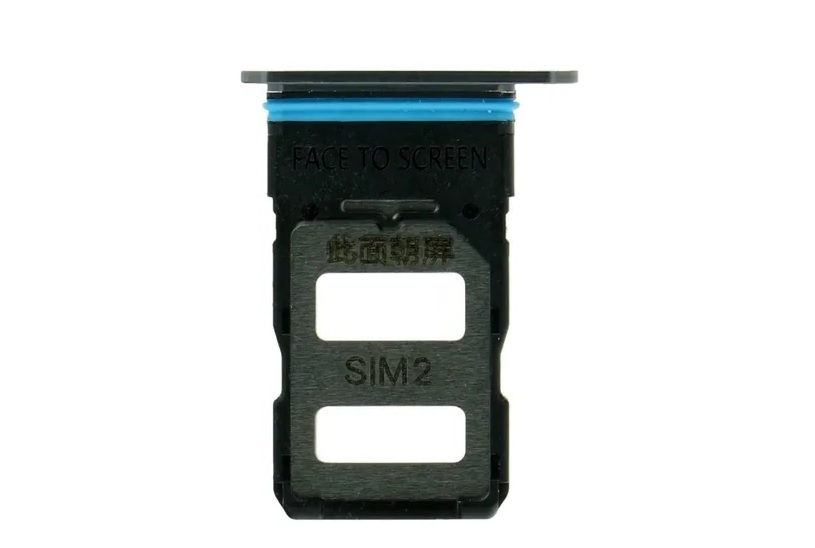 Gaveta Bandeja Chip Dual Sim Xiaomi Mi 10t Slot Titanio