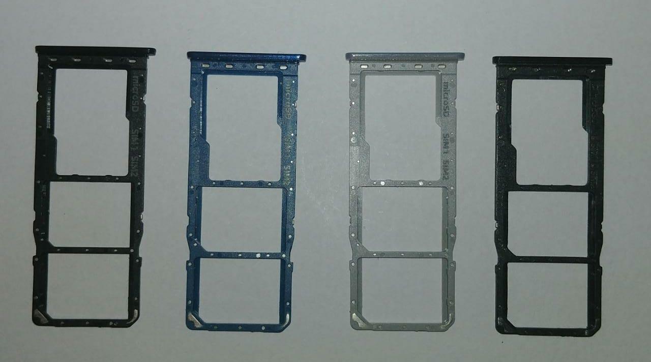 Gaveta Bandeja De Chip Dual Sim Samsung Galaxy A20 Sm A205