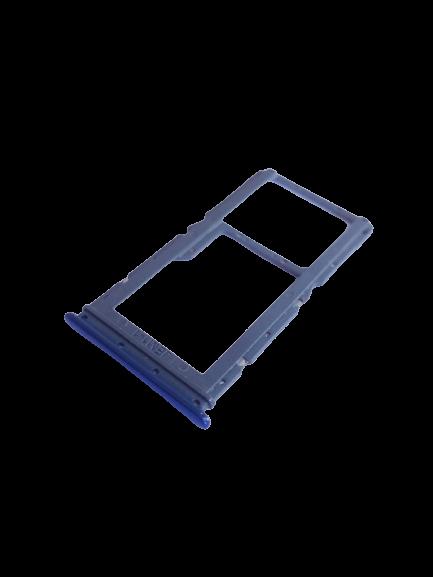 Gaveta Bandeja Slot De Chip Xiaomi Mi 10 Lite Azul Retirado Novo